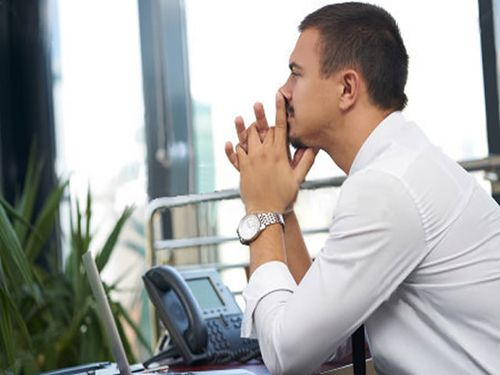 Executive Coaching Image of Man in Office